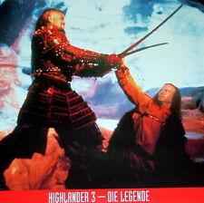 Christopher Lambert HIGHLANDER 3 original Kino Aushangfotos 10 Motive
