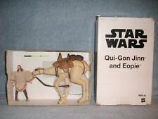 Qui-Gon Jinn and Eopie Mail Order White Box Phantom Menace Star Wars Hasbro New