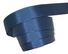 "5 yards Light navy blue 5/8"" grosgrain ribbon by the yard Diy hair bows"