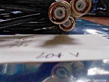3  BELDEN 8241 59/U CABLE EST.  AWM 1354 SHIELDED E34972, 50 OHM BNC