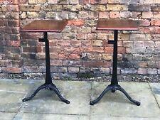 Edwardian Metal Machinists Tables
