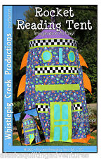 Sewing Pattern ~ ROCKET READING TENT ~ by Whistlepig Creek Productions