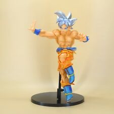 "DragonBall Z DBZ SCULTURES BIG son GOKU PVC Statue figure 8"" white hair"
