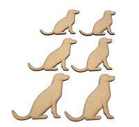 Wooden MDF Labrador Craft shape, embellishment, decoupage, Dog shapes Dog gift