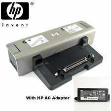 HP KP080AA Docking Station HP6510b 6710b 6530b 6930p HSTNN-i09X + AC Adapter