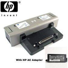 Docking Station HP kp080aa hp6510b 6710b 6530b 6930p HSTNN-i09x + Adattatore AC
