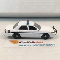 #50  2009 Crown Victoria Cheyenne Police * Greenlight Hot Pursuit * E11