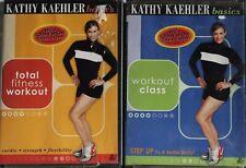 NEW 2 Kathy Kaehler exercise DVD lot total fitness workout class step aerobics
