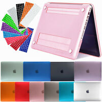 "Laptop Matte Shell Hard Keyboard Cover Case for Apple Macbook Pro 13"" 15"" Inch"