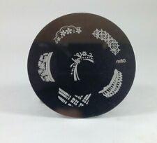 Round Nail Stamping Plates Manicure Pedicure Nail Art 80