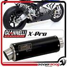 Scarico Giannelli X-Pro Nero Honda CB500 F 2013/15 Echappement Exhaust Auspuff