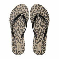 kate spade Nassau Leopard Cheetah Print Sandal Flip Flops Size 7 - 8 NWT
