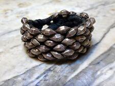 Superbe bracelet en argent massif Inde debut XXeme 1900