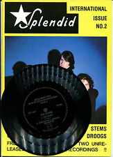 "SPLENDID Magazine No.2 with Flexi 7"" Disc by THE STEMS (Dom Mariani)"