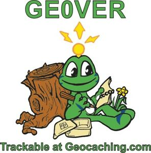 Signal - Found It - Static Car Sticker Trackable Geocaching Frog