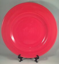 Tabletops Gallery Playa Red Dinner Plate Stoneware 10 3/4 IN Latin Spanish