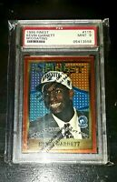 1995 Topps Finest #115 KEVIN GARNETT Rookie RC PSA Mint 9 w/ Coating! 10? HOF📈