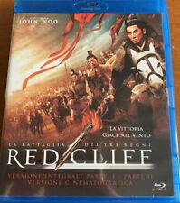Blu-ray ** RED CLIFF La Battaglia dei Tre Regni (Collector's) ** Fuori Catalogo