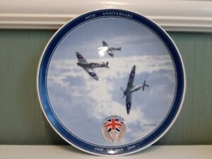 Wedgwood VE Day Commemorative Plate spitfires