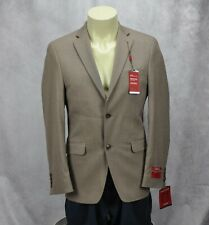 Alfani Mens Slim Fit Stretch Two Button Suit Coat Brown Size 40L