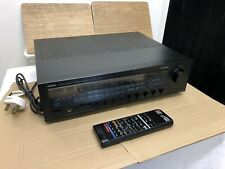 Yamaha amplifier AVX- 100 with Remote -WORKING