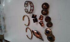 Lot of Unique and Pretty Vintage Copper Jewelry
