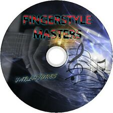 FINGERSTYLE ACOUSTIC GUITAR TAB TABLATURE CD BEST MUSIC SONG BOOK FINGERPICKING
