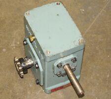HYTROL 4A 10-1 10:1 RATIO RH RIGHT HAND SPEED REDUCER GEARBOX WORM GEAR