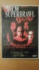 WCW SUPERBRAWL REVENGE 2001 DVD