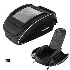 Motorcycle Rear Tail Seat Tank Bag Saddle Helmet Shoulder Storage Waterproof US