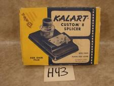H43 VINTAGE KALART CUSTOM 8 SPLICER ORIGINAL BOX