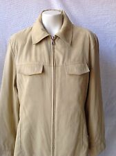 Esprit Jacket Light Tan Suede XL Lined