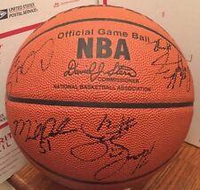 2003/2004 New York Knicks Team Signed Ball Houston Ward Mutombo Van Horn +9 More