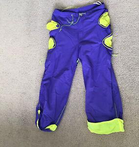 Cyberdog Purple And Yellow Trousers