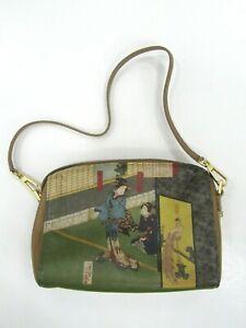 Jeon Los Angeles Leather Printed Mini Purse
