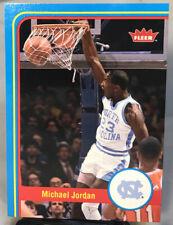 MICHAEL JORDAN 2012-13 Fleer Retro #1 NC Tarheels B14