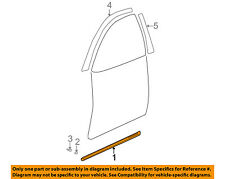 HYUNDAI OEM 05-06 Elantra FRONT DOOR-Body Side Molding Right 877122D502