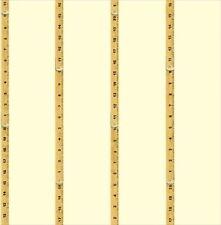 Boys Construction Wooden Ruler Wallpaper Pd50207