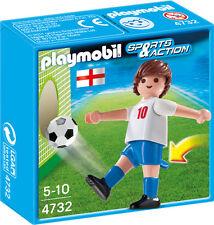 P15) PLAYMOBIL ® (4732) Fussballspieler Spieler Sports & Action England