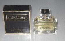 VINTAGE Original Ralph Lauren Notorious Eau De Parfum 50ml  Rare. Discontinued