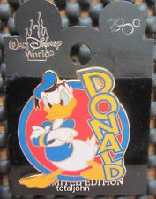 Disney WDW Mystery Pin #4 - Angry Donald Duck Pin