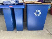 Rubbermaid 2 Stream Glutton 46 Gallon Recycling Station-NEW!!! Four Available!