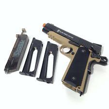 New listing ELITE FORCE 1911 TAC Blowback 6mm BB Pistol Airsoft Gun, FDE/Black, AS IS UNTEST
