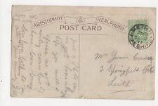 James Condie Springfield Bld Leith 1911 Postcard 270a