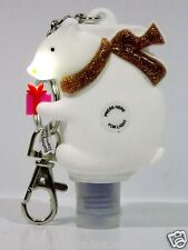 Bath & Body Works Light-Up PocketBac White Polar Bear Sanitizer Holder key chain