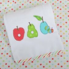 The Very Hungry Caterpillar Fruits Car Seat/Pram/Moses Basket Blanket