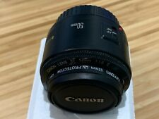 Canon ef 50mm f/1.8 II lens - EXCELLENT condition