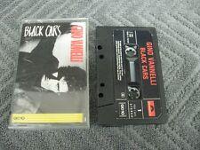 Gino Vannelli black cars - Cassette Tape