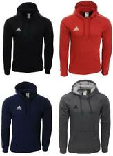 Men's Adidas Core18 Pullover Hoody Jumper Sweatshirt Black/Red/Blue/Grey