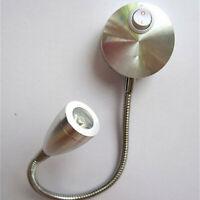 AC 85-265V Lampe de Chevet Liseuse LED Applique Murale 360-degrés pour Maison